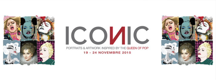 """Exposition :  """" Iconic"""" à Turin"""