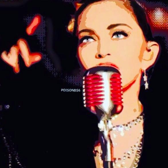 Le coup de gueule de Madonna