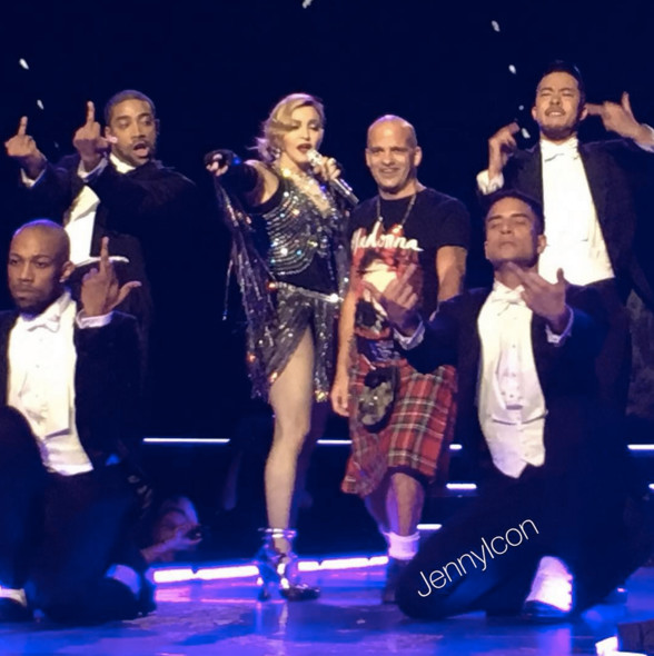 Rebel Heart tour : Glasgow 20th of December