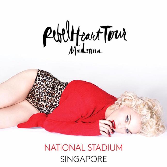 Rebel Heart Tour Singapore : Cette fois c'est oui ! - MAJ DU 7 JANVIER