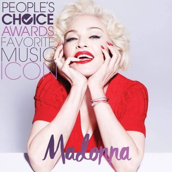 PEOPLE'S CHOICE AWARDS : 1 PRIX pour MADONNA !