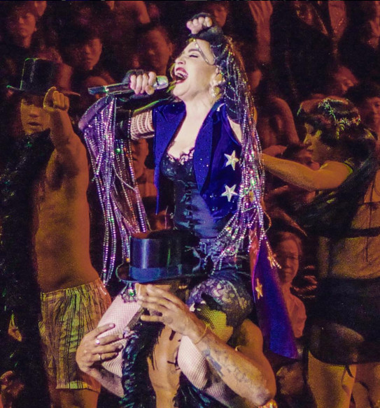 Rebel Heart Tour : Macau 20 & 21 Février