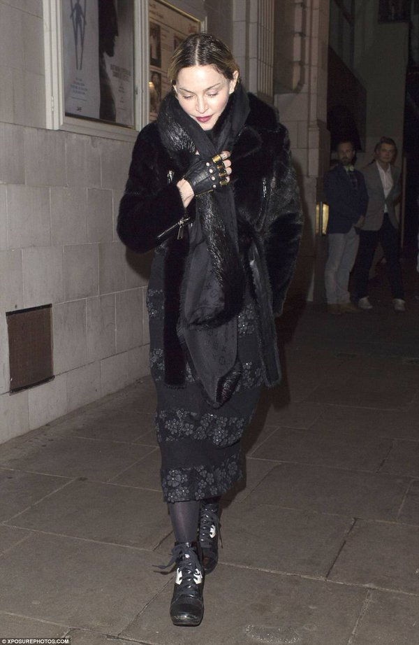 Madonna et Rocco : La réunification