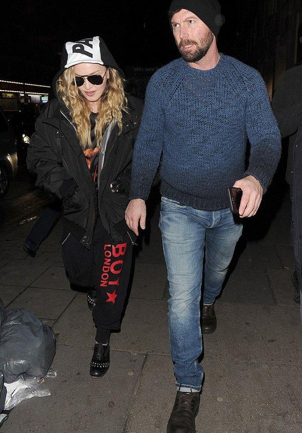 Madonna au cinema avec Rocco