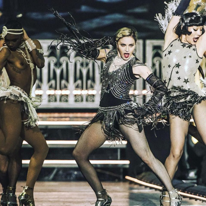 Rebel Heart Tour DVD snippet (Candy Shop)