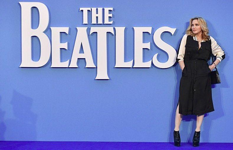 "Madonna à l'avant-première du documentaire ""8 Days A Week, The Touring Years"""