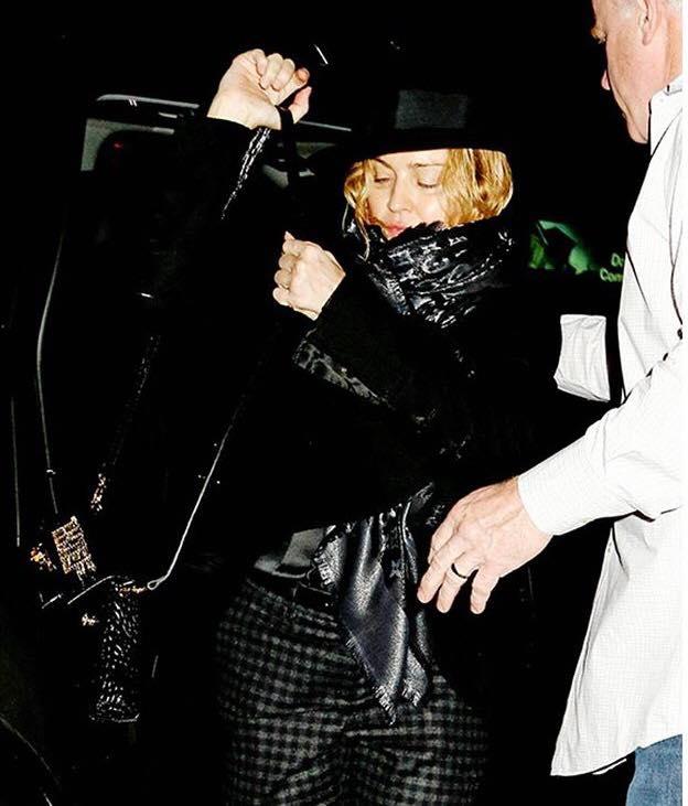 Madonna de sortie pour Yom Kippour