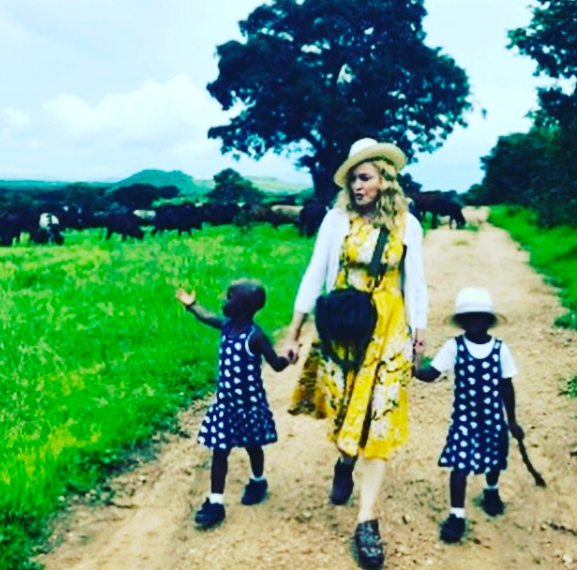 I can officially confirm I have completed the process of adopting twin sisters from Malawi and am overjoyed that they are now part of our family. I am deeply grateful to all those in Malawi who helped make this possible, and I ask the media please to respect our privacy during this transitional time. 🙏🏻 Thank you also to my friends, family and my very large team for all your support and Love! 💘🦋🦋🌺🌼🌸🦋🦋🙏🏻🙏🏻✈️✈️😂🤣🦋🦋♥️🌺🎈♥️