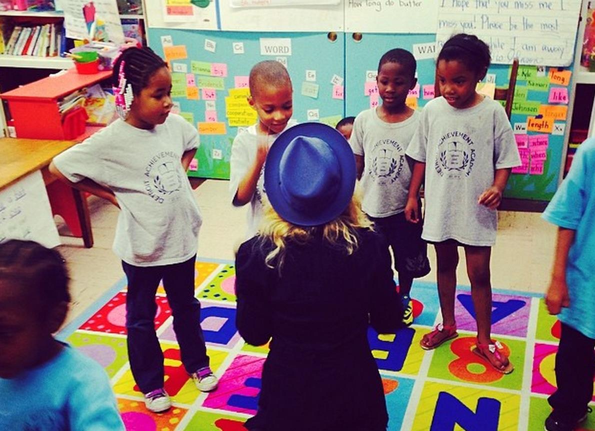 Madonna double les dons pour Détroit