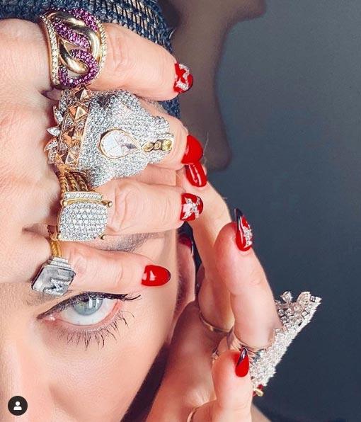 Madonna dévoile les titres de l'Eurovision