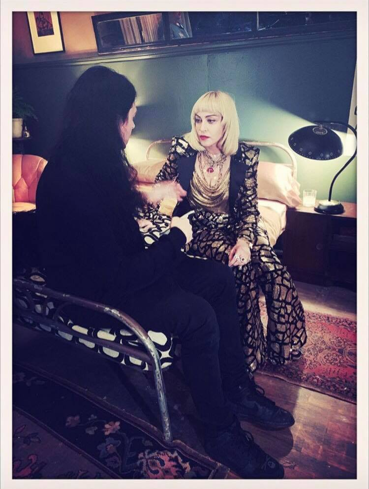 Madonna et Jonas Akerlund