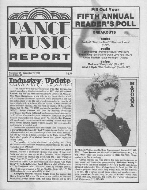 Madonna : 37 ans de carrière aujourd'hui