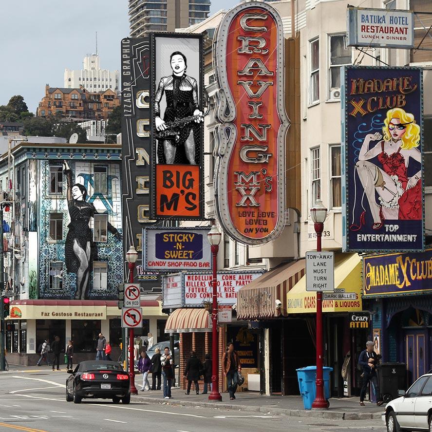 Broadway San Francisco par Izzagar