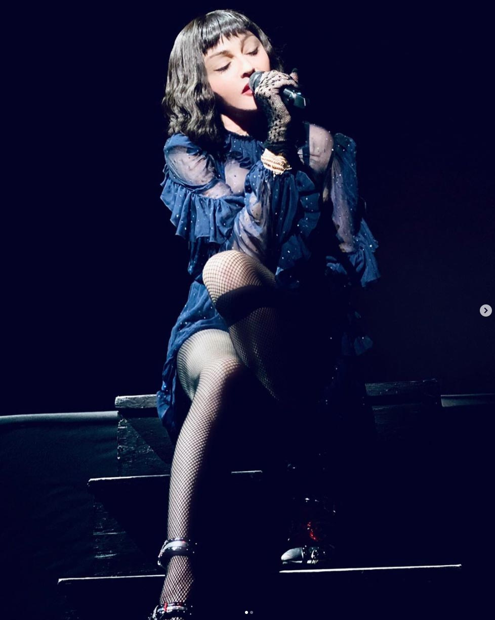 Madonna contrainte d'annuler Boston