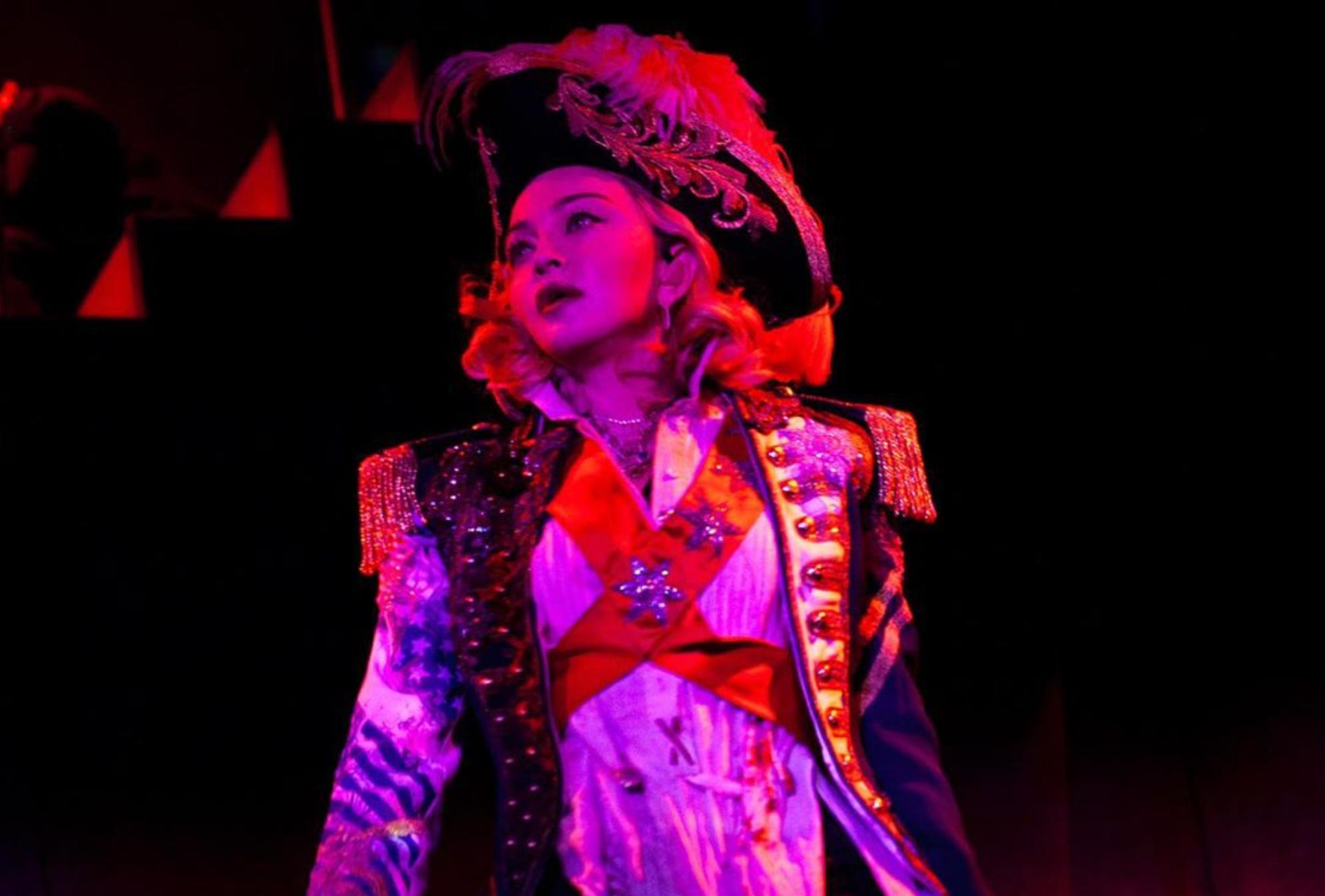 Madame X Tour 9 février