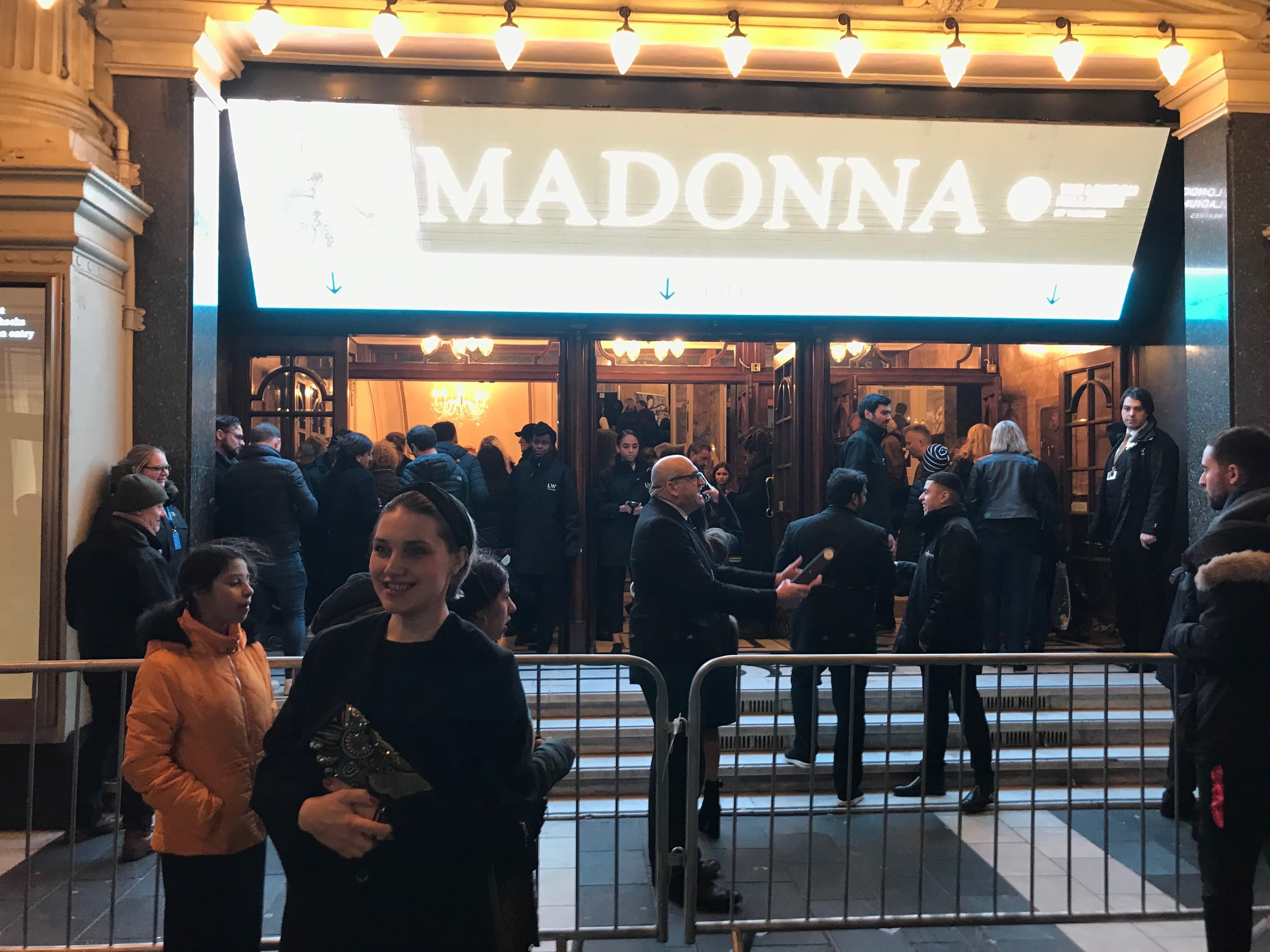 Madame x tour 16 février