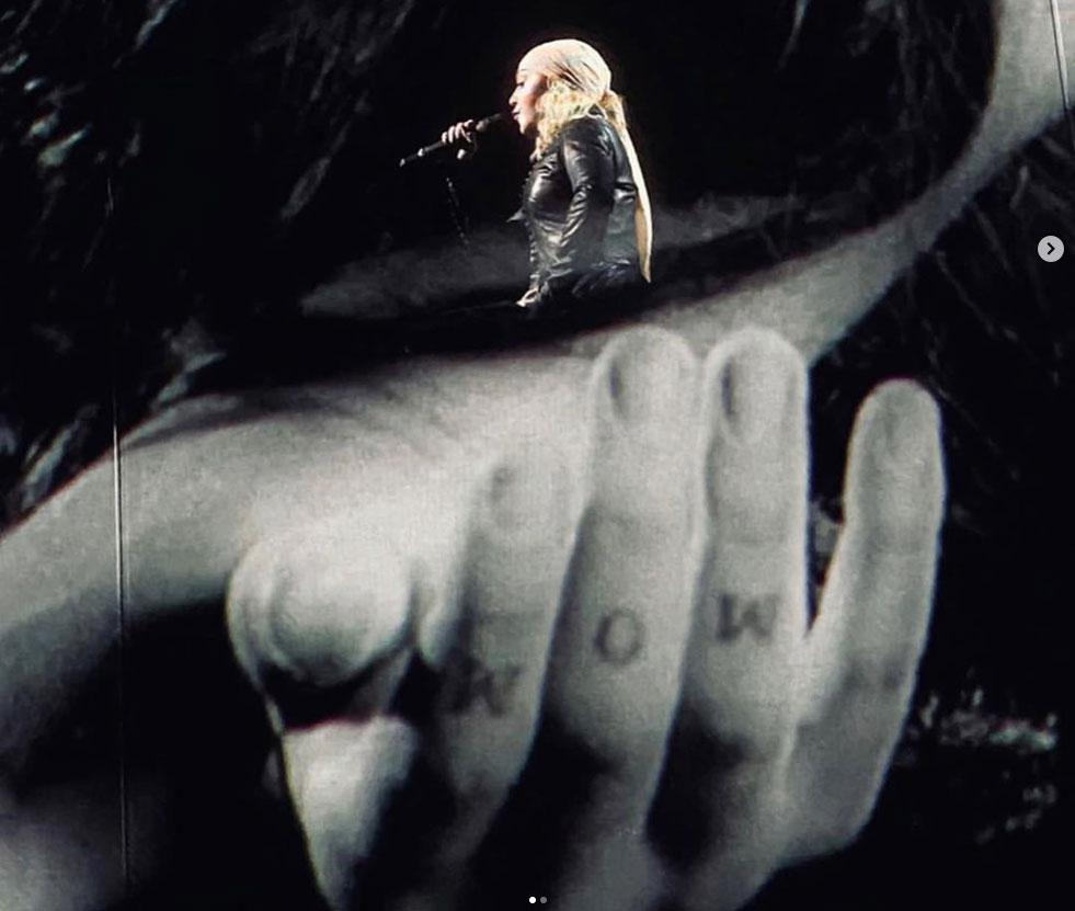 Madonna au théâtre de Chaillot