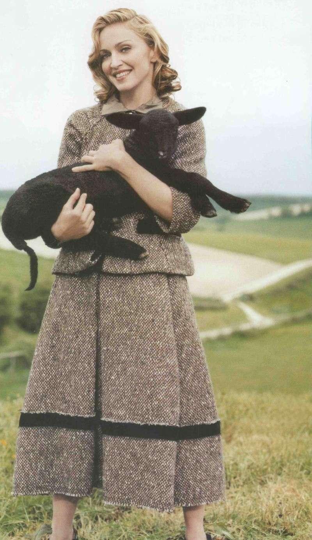 Madonna par Tim Walker pour Vogue en 2005