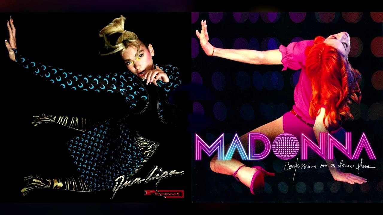 Une collaboration Madonna et Dua Lipa ?