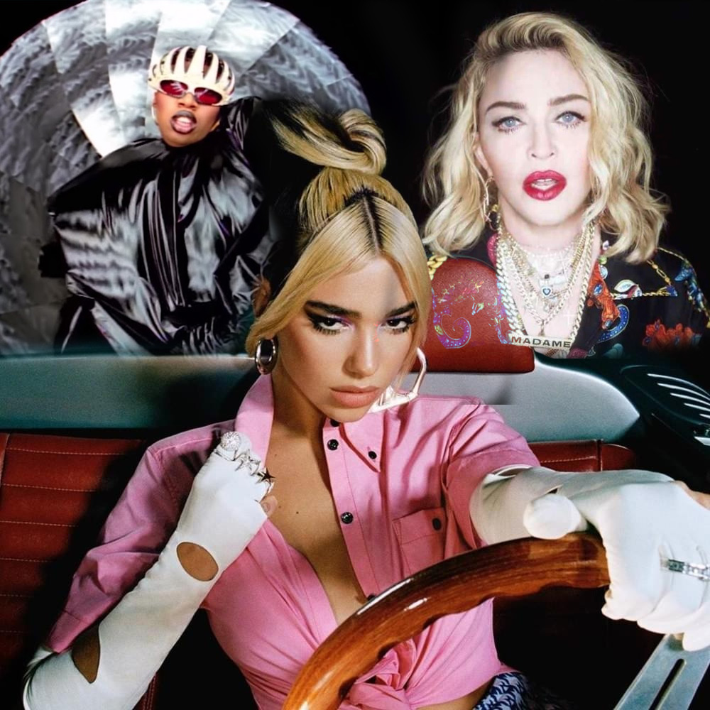 Exclu NOM : les détails Dua Lipa Madonna