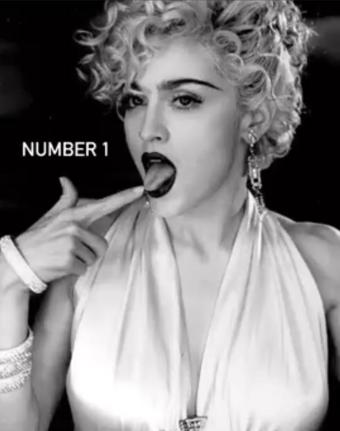 Madonna sacrée par Billboard