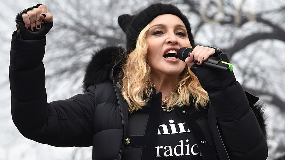 Madonna citée par la défense de Trump