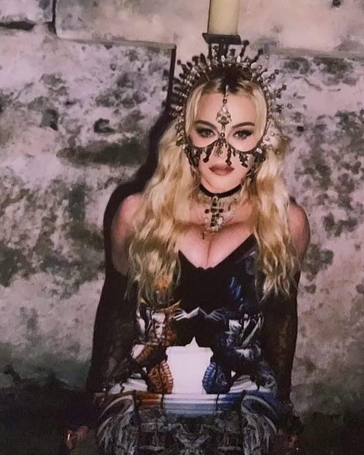 Madonna : son anniversaire à Puglia