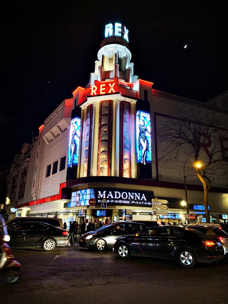 Madame x tour au grand rex