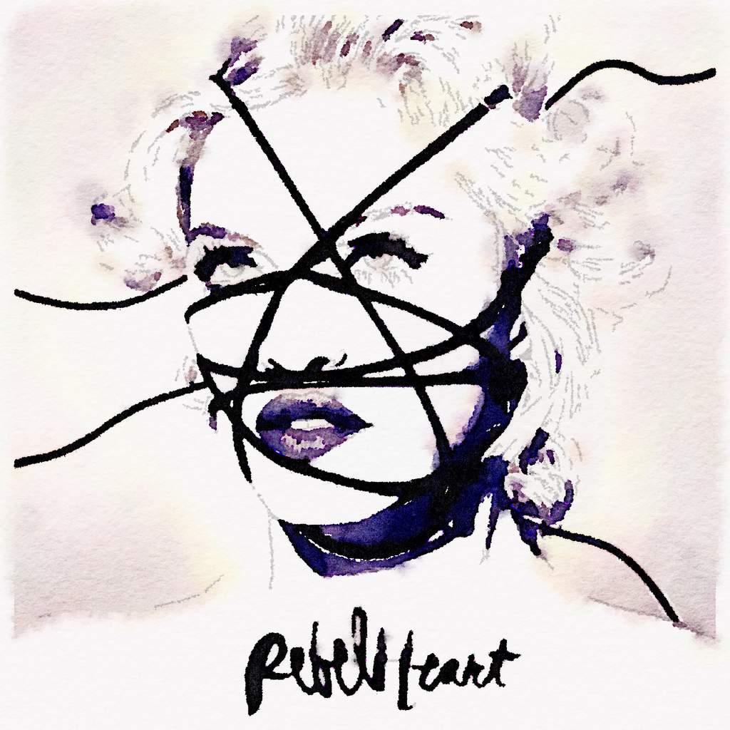 Exclu News Of Madonna : Rebel Heart promo