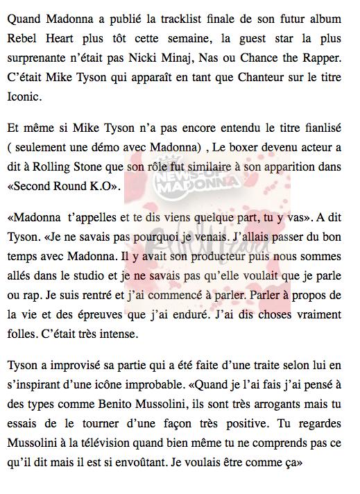 L'interview de Mike Tyson en français