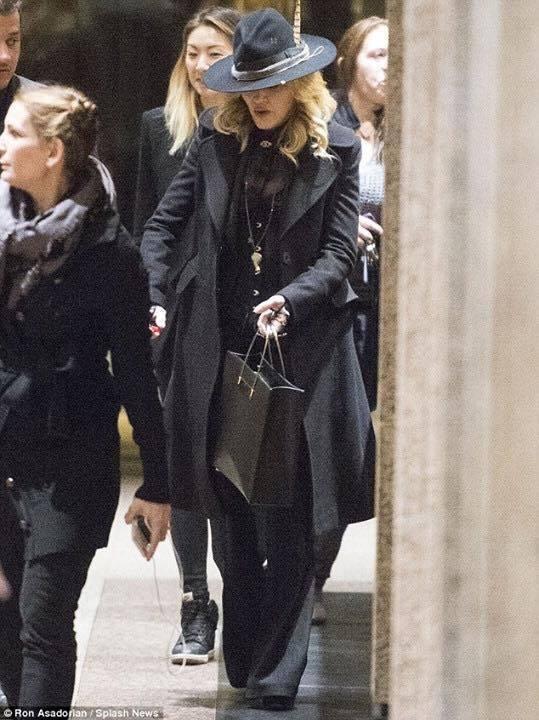 Madonna dans les rues de NYC