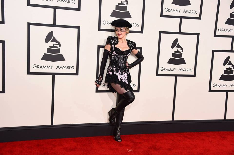 Madonna - Grammy's : red carpet