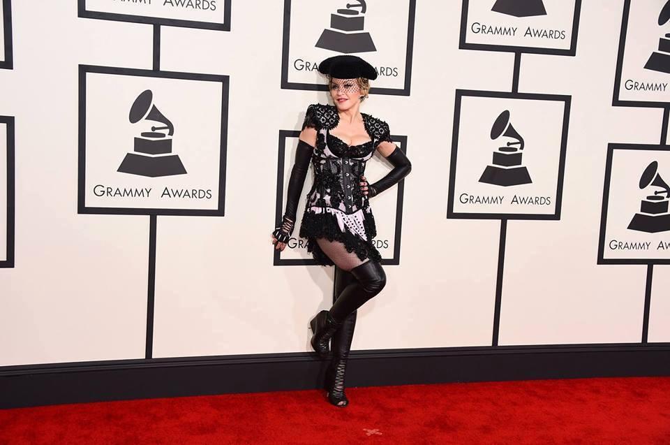 Madonna - Grammy's : red carpet