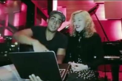 Madonna : I-Art Project - Intelligence artistique