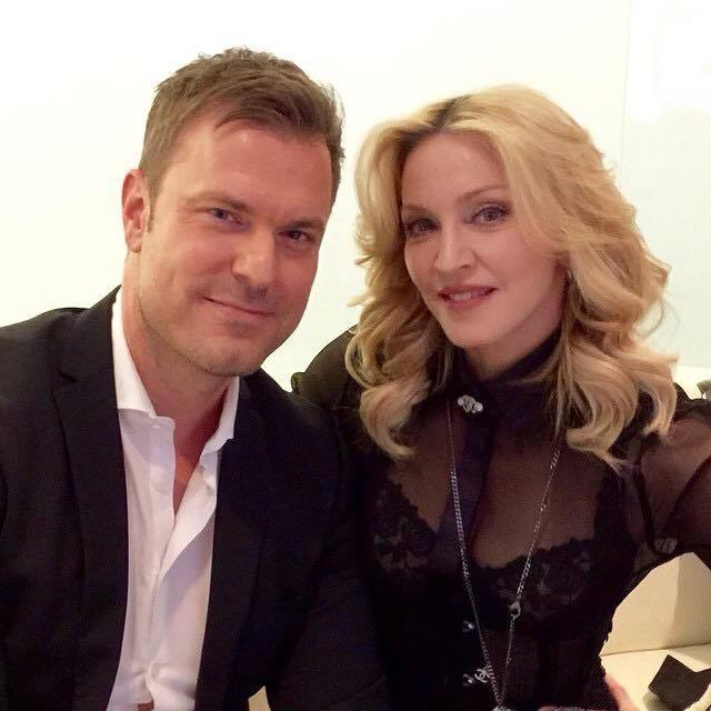 Madonna dans GALA