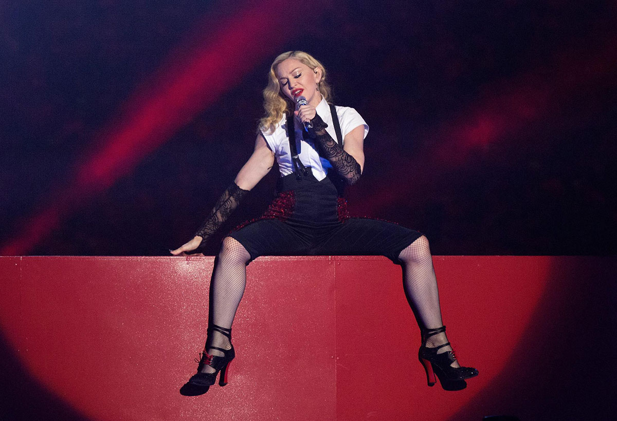Brit Awards : la performance de Madonna