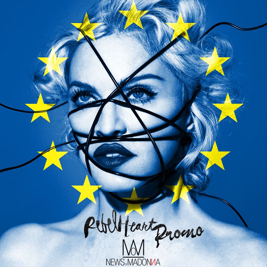 Madonna : Rebel Heart promo tour