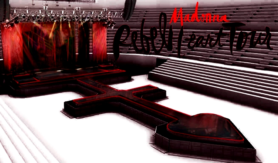 Madonna : The Rebel Heart tour stage