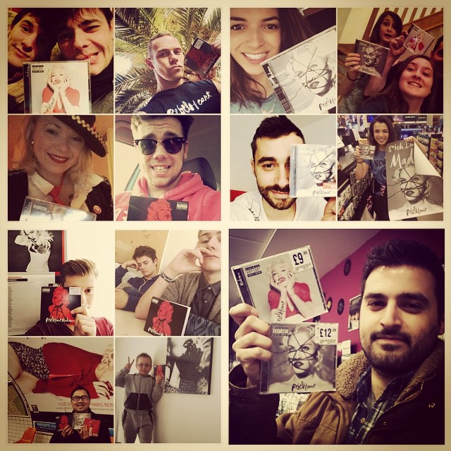 "MADONNA'S FANS : ""REBEL HEART"" SELFIE EVENT"