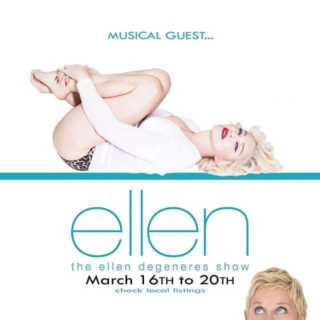 "#Madonnaweek on "" The Ellen Show"""