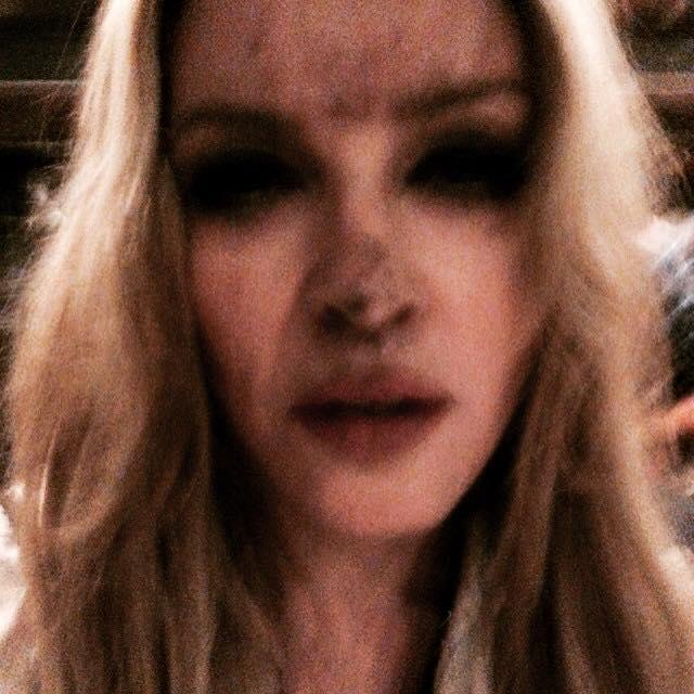 Madonna sur le Tournage du Clip de GhostTown