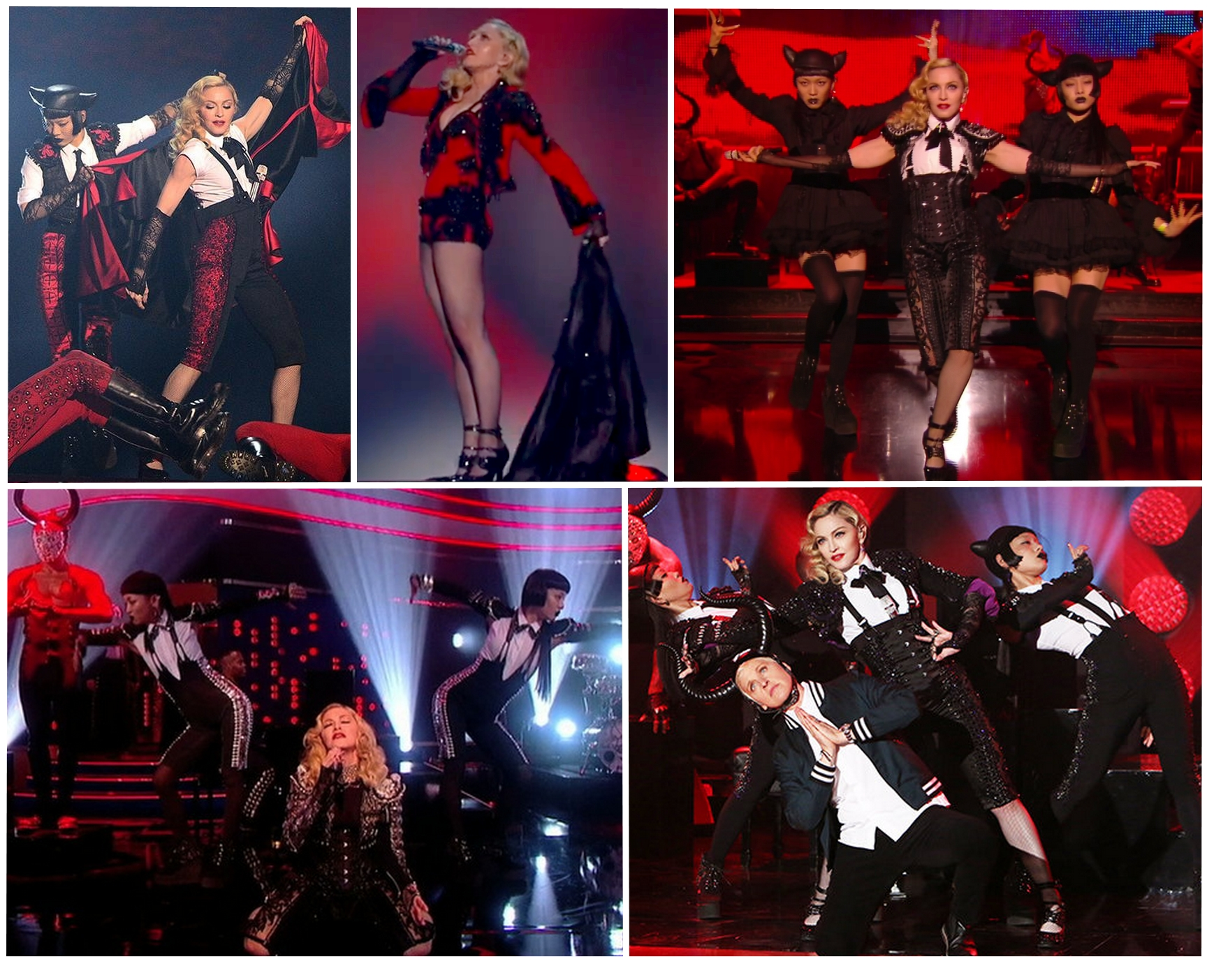 "MADONNA : LES LIVES DE ""LIVING FOR LOVE"""