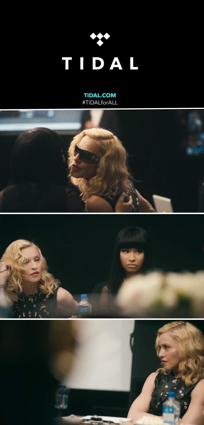 Madonna - TIDAL Promo Teaser
