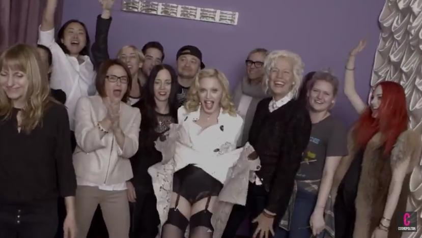 Madonna | Behind the Scenes | Cosmopolitan