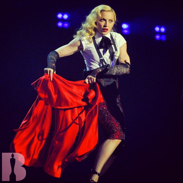 Toroshopping pour les costumes du Rebel Heart Tour