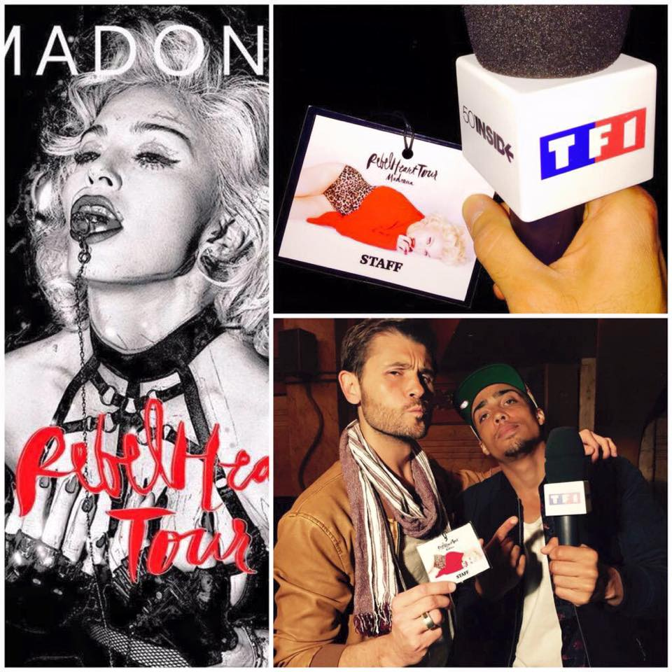 Rebel Heart Tour : Auditions in Paris