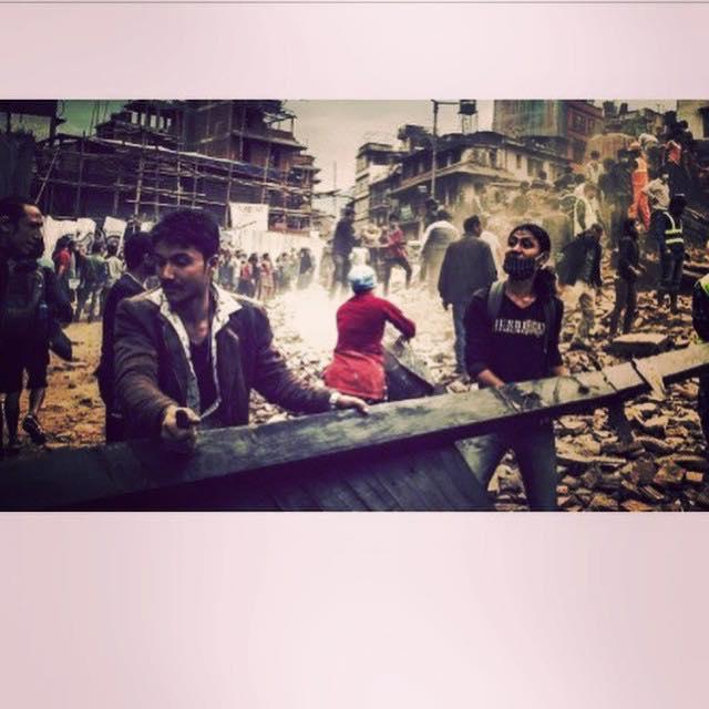 Madonna réagit au séisme au Népal