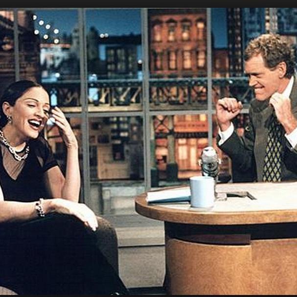 David Letterman raccroche et Madonna lui rend hommage