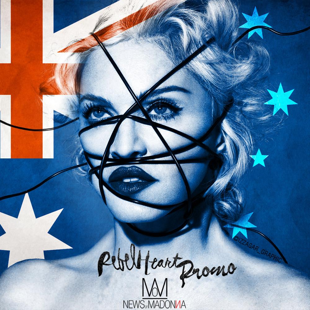 REBEL HEART TOUR passera bien par l'AUSTRALIE