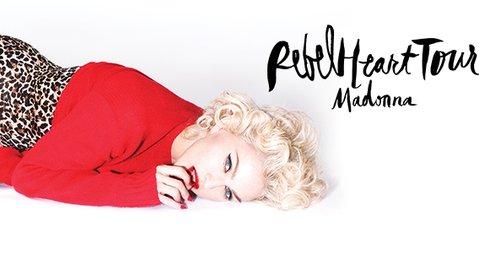 Madonna dévoile le thème du Rebel Heart Tour